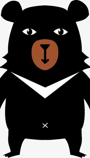 Gấu đen chả có chủ kiến - Thiếu Nhi